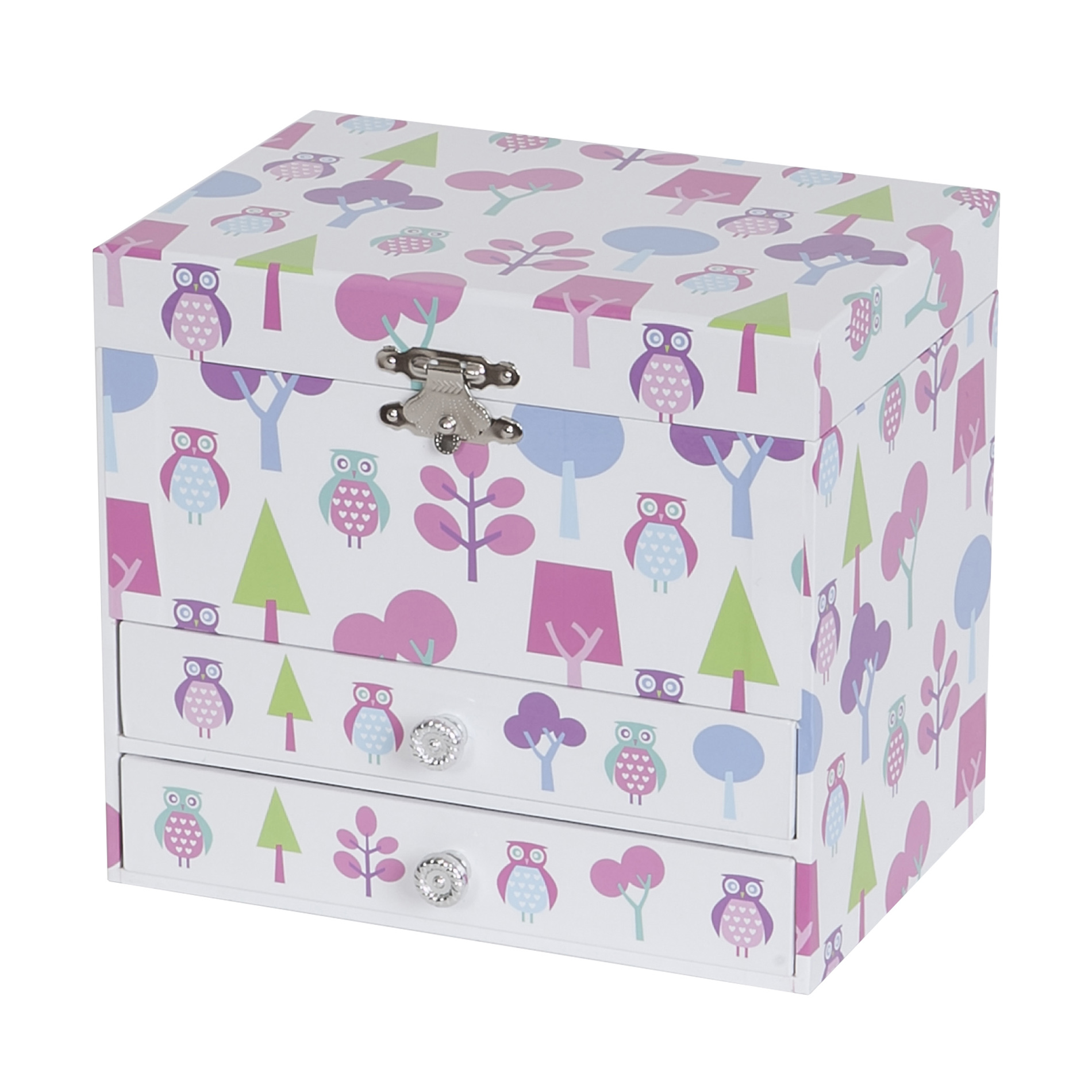 Mele & Co. Mele&Co. Girl's Musical Ballerina Jewelry Box, Owl Pattern