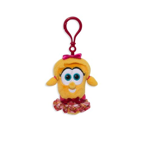 Enesco Veggie Tales Plush Laura Backpack Clip